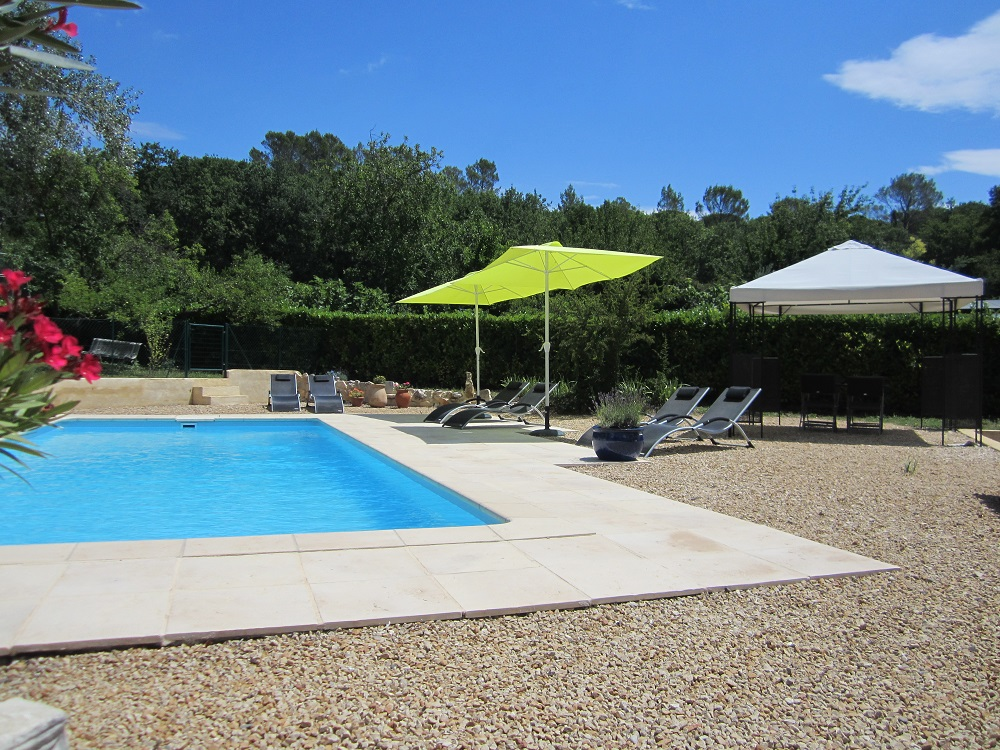 Holiday Home Swimming pool Cornillon Ceze France